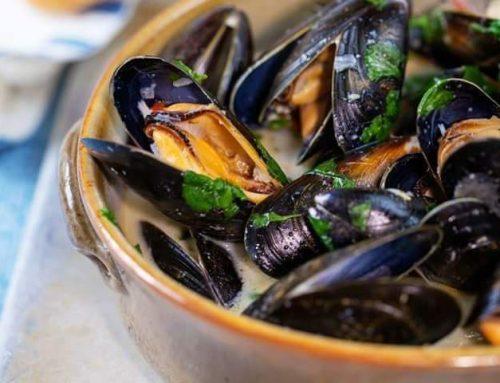 Black Sea Midye Natiur (Cooked Mussels)